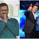 दिल्ली चुनाव प्रचार में हुई शाहरुख़ खान को एंट्री! केजरीवाल की पार्टी का इस तरह किया प्रचार