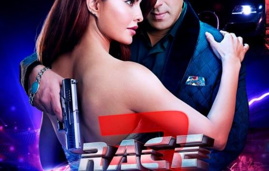 Salman khan and jacqueline Give a sizzling pose in Race-3 new poster