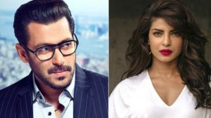 Salman welcomes priyanka in Bharat in his own way