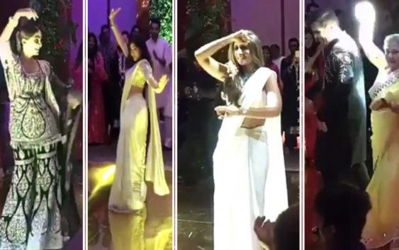 Sonam kapoor dances on prem ratan dhan payo in wedding, video goes viral