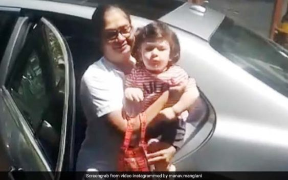 Taimur have a awesome comeback, video goes viral