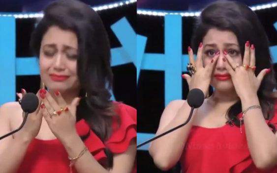 Neha gets emotional