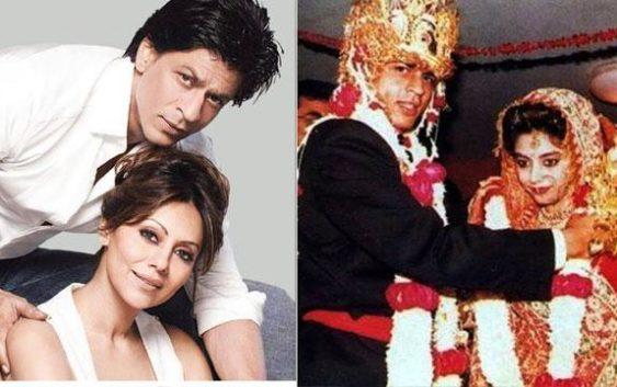 Shahrukh gauri marriage