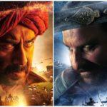 """19 नवंबर को रिलीज होगा अजय देवगन की फिल्म """"तानाजी' का ट्रेलर, सामने आया मोशन पोस्टर.."""