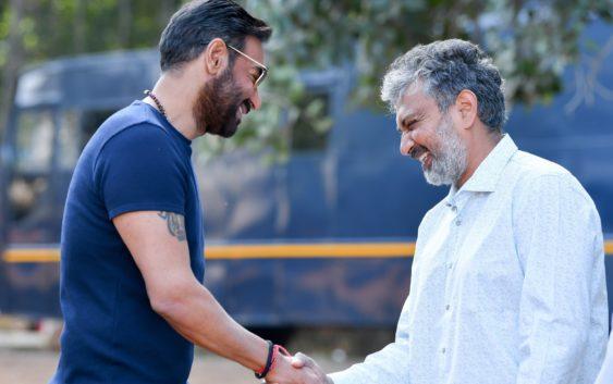 Ajay devgan start film with rajamouli