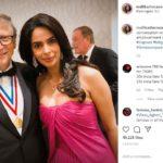 दुनिया के सबसे अमीर व्यक्तियों में शुमार बिल गेट्स से मिलीं मल्लिका, जाहिर की खुशी