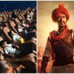 मुंबई के सिनेमा घर में स्कूल के बच्चों ने भी देखा तानाजी का शौर्य, देखें खूबसूरत तस्वीर