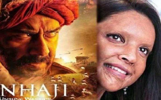 Tanhaji vs Chhapaak