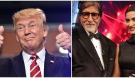 गुजरात में डोनाल्ड ट्रंप के कार्यक्रम में शामिल होंगे अमिताभ और सोनम, 24 को होगा आगमन