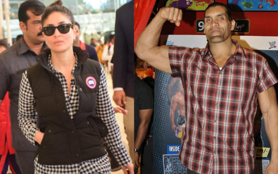 Jab kareena met Great khali