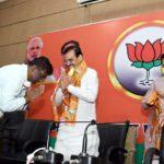 मध्य प्रदेश में कांग्रेस को बड़ा झ'टका, जिला अध्यक्ष सहित 200 कार्यकर्ता भाजपा में हुए शामिल