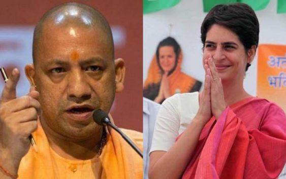 CM yogi takes on Congress over bus controversy
