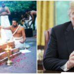 वाइट हॉउस में गूंजे वैदिक मंत्र, कोरोना संकट से बचने के लिए ट्रंप ने पुजारी से करवाई पूजा..