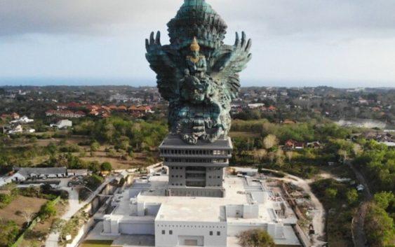 Worlds tallest Lord vishnu statue in Indonesia