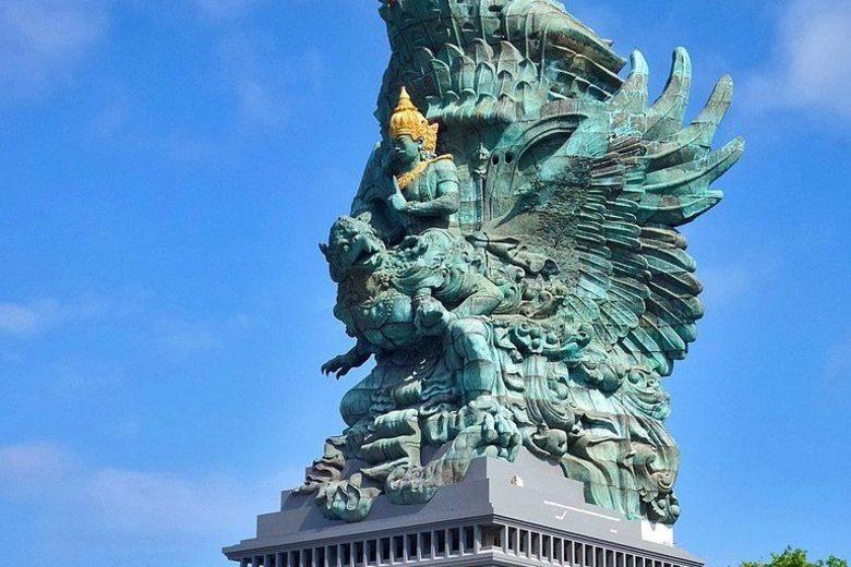 Lord Vishnu Worlds tallest Statue is in Indonesia