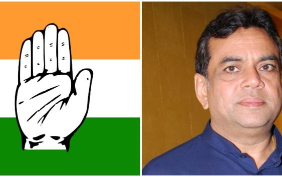 Paresh rawal reacts on MP congress Tweet over America Incident