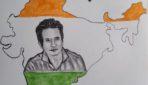 आर्टिस्ट ने भारत के नक़्शे में सोनू सूद की तस्वीर को उकेरा, वायरल हो रही फोटो..
