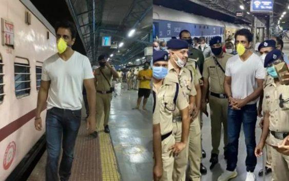 Sonu Sood sent Migrants now With train