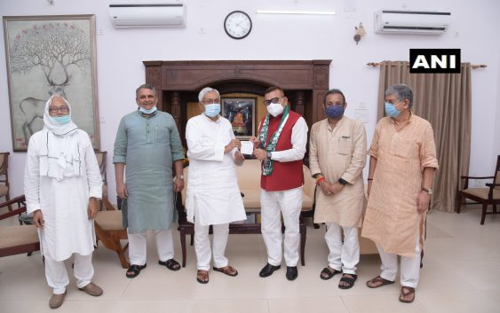Gupteshwar Pandey Join JDU