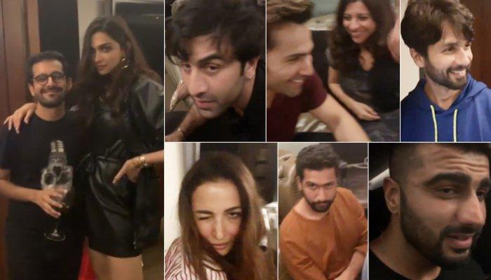karan johar party video