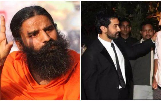 baba ramdev angry on Aamir or Akshay