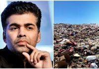 करण जौहर अपना कचरा हटाएं नहीं तो कोर्ट में जवाब देने को तैयार रहें- मंत्री ने दी चेता'वनी