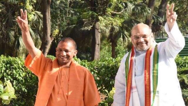 CM Yogi or amit shah in Hyderabad