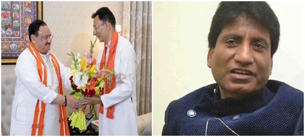 राजू श्रीवास्तव ने ली जितिन प्रसाद की मौज