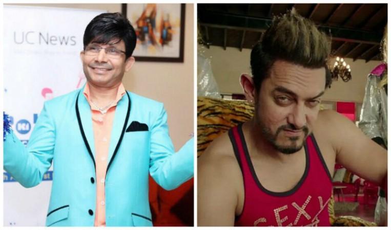 केआरके ने आमिर को बताया रंगीन मिजाज आदमी