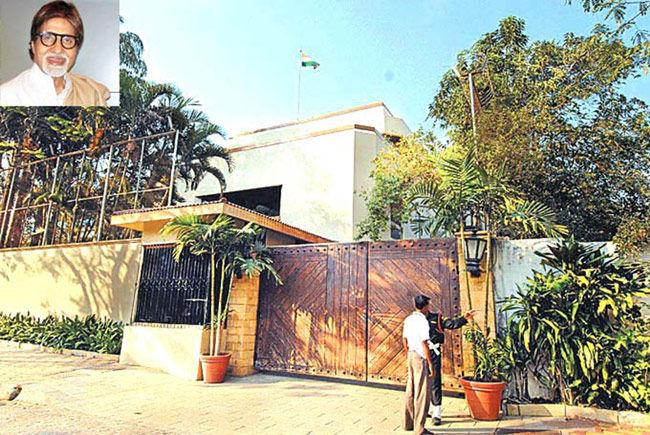 अमिताभ बच्चन के बंगले पर चलेगा बुलडोजर